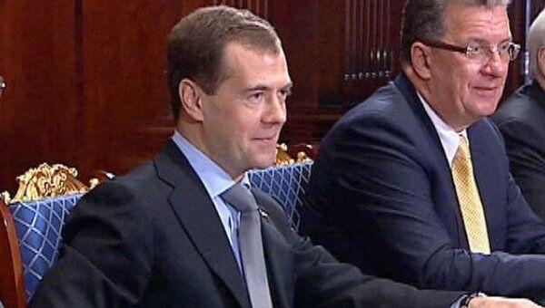 Пан Ги Мун продемонстрировал Медведеву знание русского языка