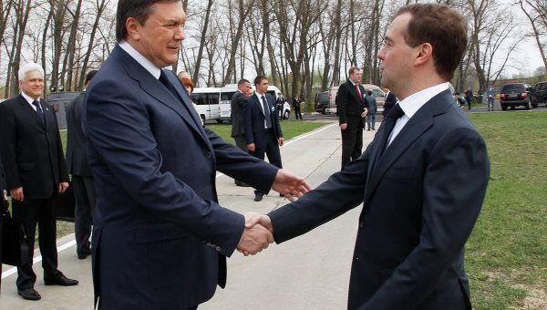 Президент РФ Д.Медведев участвует в Чернобыле в мероприятиях, посвященных 25-й годовщине трагедии на АЭС