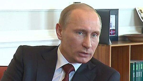 Путин доволен развитием сотрудничества России и Дании