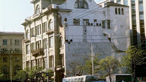 Здание редакции газеты Труд. Архив