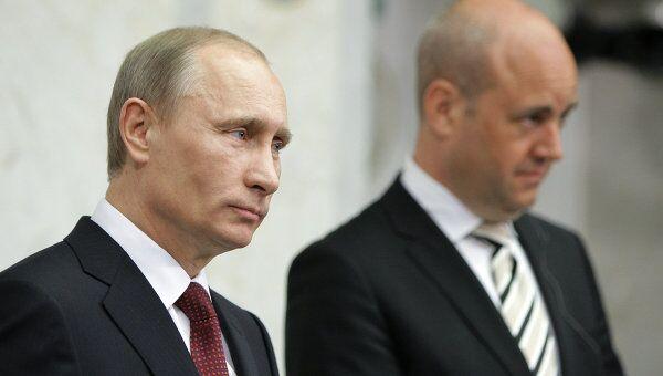 Рабочий визит премьер-министра РФ Владимира Путина в Стокгольм