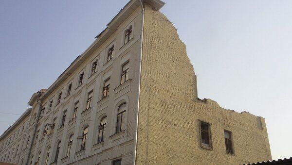Снос старинного дома на Якиманке. Архив