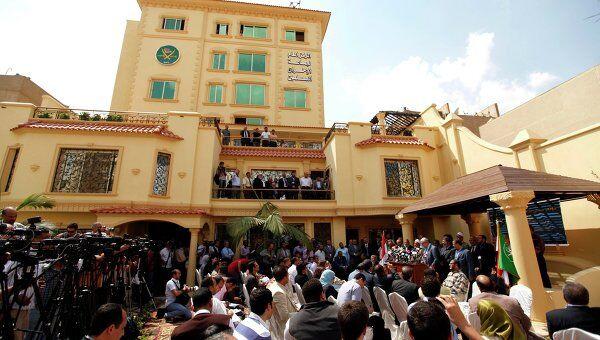 Штаб-квартира партии движения Братья-мусульмане в Египте