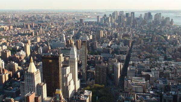 Нью-Йорк, США. Архив