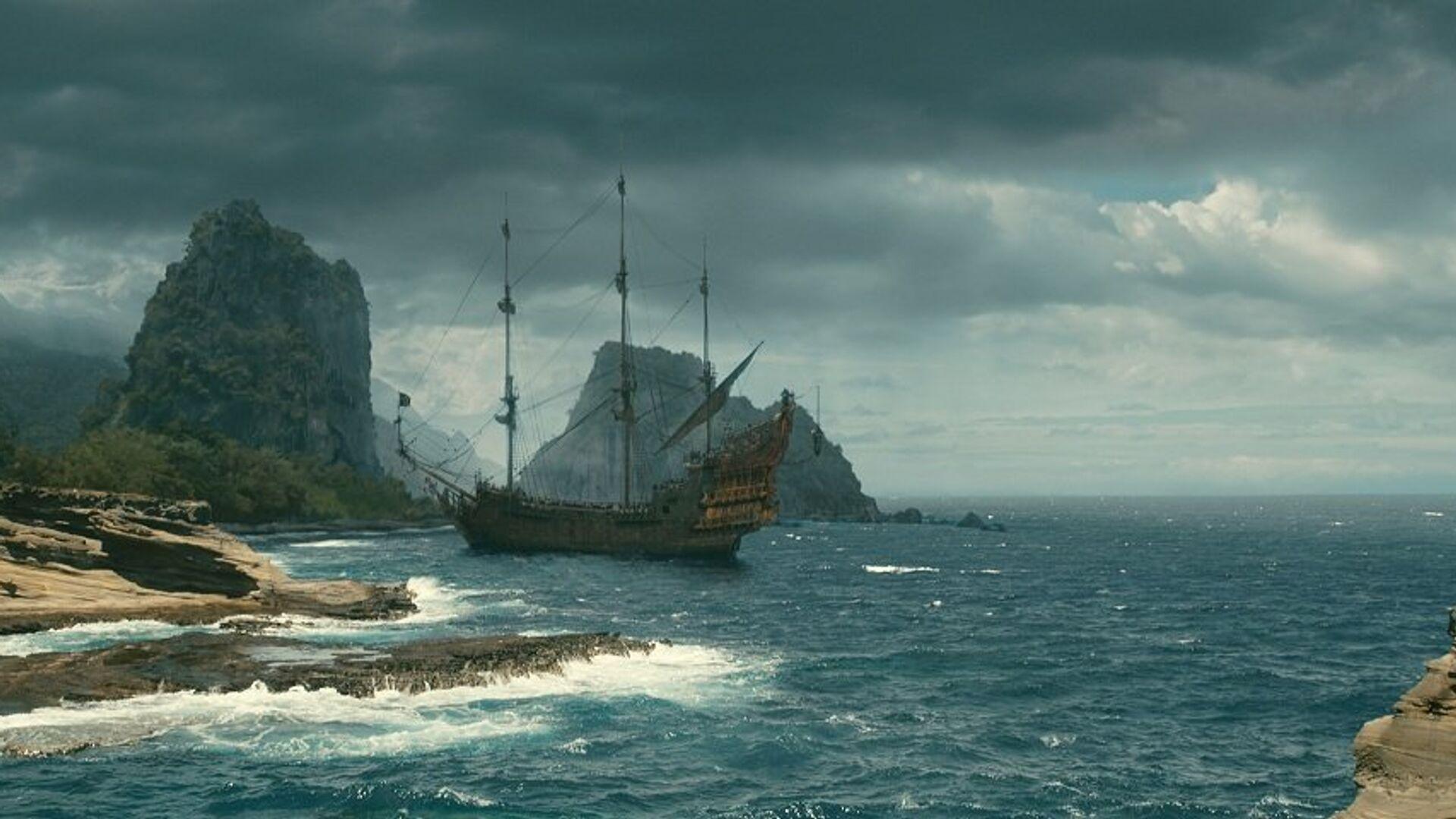Кадр из фильма Пираты Карибского моря: На странных берегах - РИА Новости, 1920, 07.06.2020