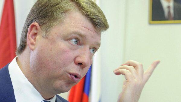 Интервью с главой департамента СМИ и рекламы Москвы Владимиром Черниковым