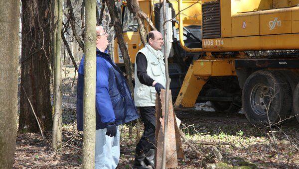 Сотрудники Автодора приняли участие в субботнике в Химкинском лесу