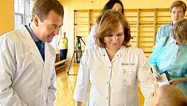 Больные ДЦП дети рассказали Медведеву о своих мечтах