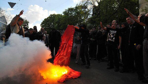 Беспорядки во Львове