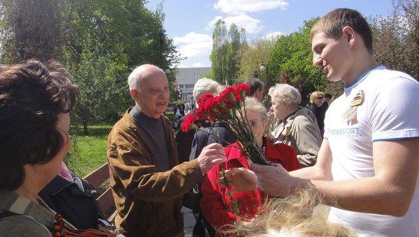Народные гулянья на День Победы
