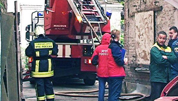 Пожар в полурасселенном доме в Москве унес жизни семерых человек