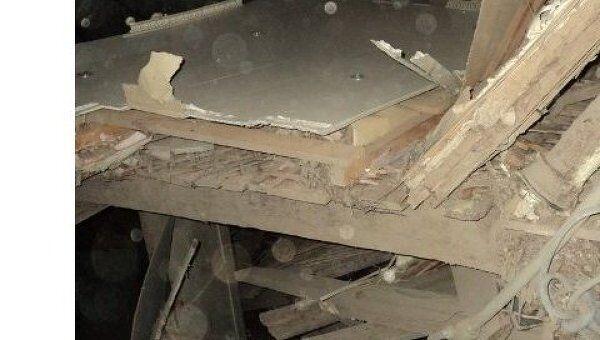 Обрушение дома в Струнино Владимирской области