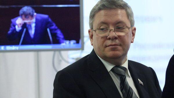 Заместитель председателя Совета Федерации Александр Торшин