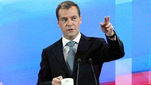 Медведев обошелся без помощи ведущего на своей большой пресс-конференции