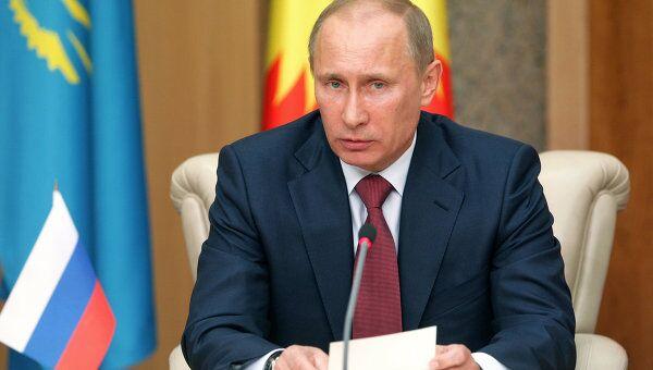 Рабочий визит премьер-министра РФ Владимира Путина в Минск