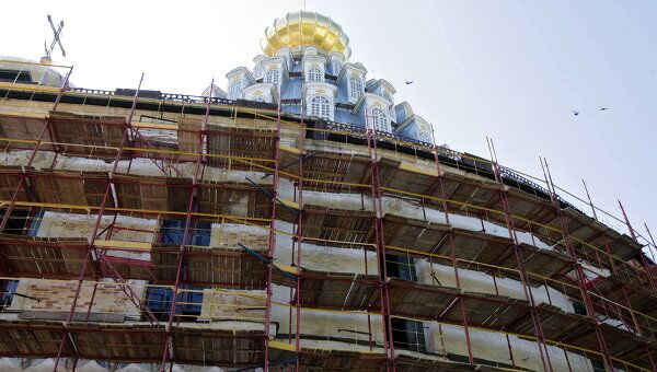 Воскресенский храм Новоиерусалимского монастыря