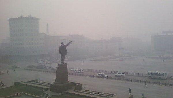 Смог в Якутске
