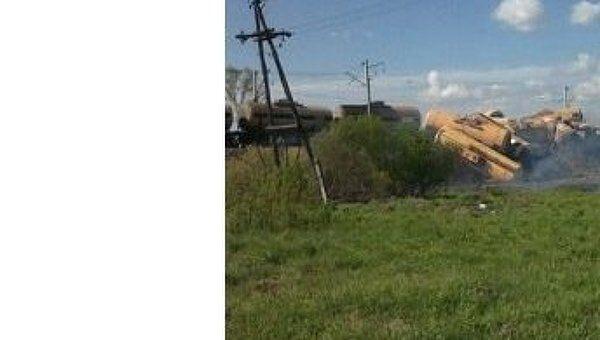 Столкновение поезда и автомобиля в Костромской области