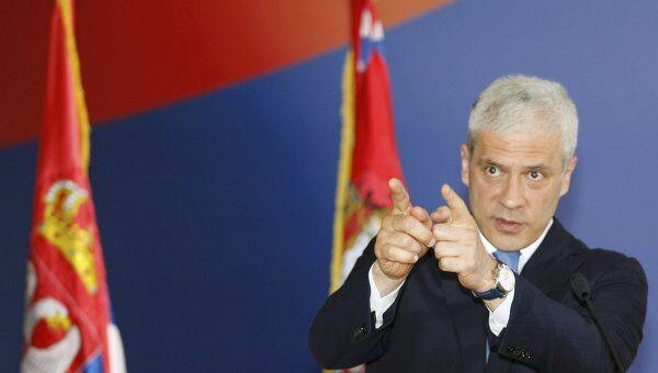 Президент Сербии Борис Тадич