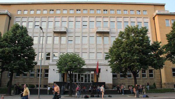 Здание Специального суда, где содержится Ратко Младич