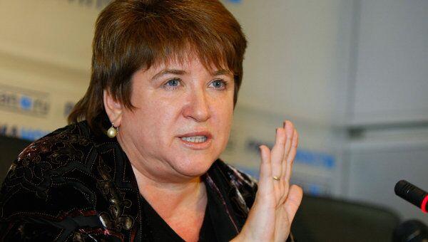 Член Совета Федерации, бывший руководитель Федеральной службы по надзору в сфере образования Любовь Глебова