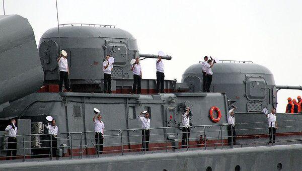 Моряки ТОФ провели первые в истории совместные учения с Индонезией