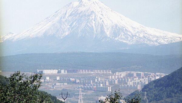 Вид на Петропавловск-Камчатский. Архивное фото