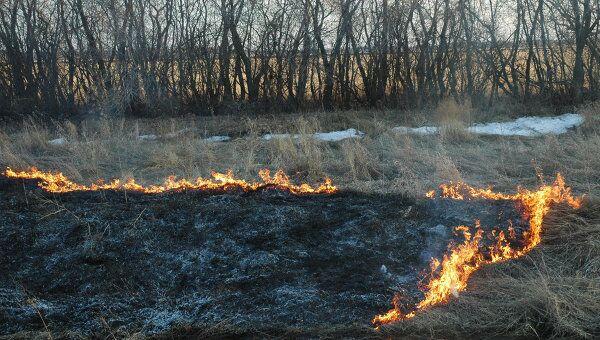 Пожары в Омске