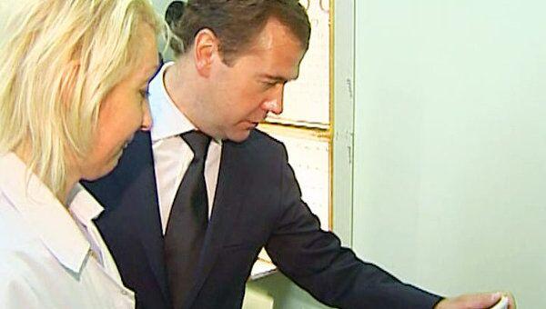 Медведев устроил внезапную проверку московским врачам