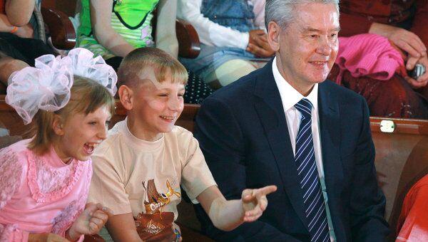 Праздник в цирке на Вернадского в День защиты детей