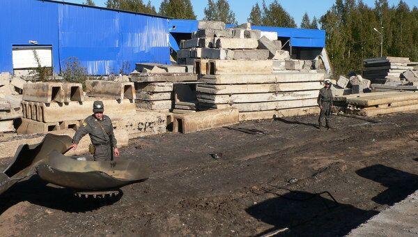 Последствия взрыва АЗС в Костроме
