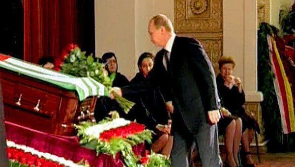 Путин простился с президентом Абхазии Сергеем Багапшем