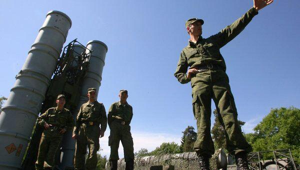Соединение ПВО С-300 заступило на боевое дежурство