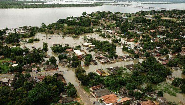 Наводнение в Бразилии. Архивное фото