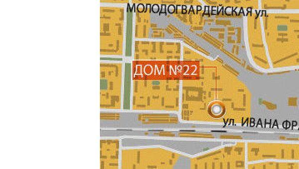 ул. Ивана Франко, 22 корпус 1, город Москва