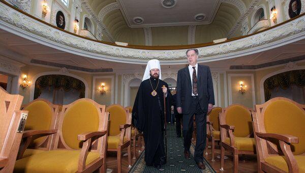 Освящение Большого зала Московской консерватории