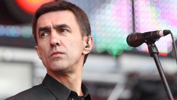 Музыкант Вячеслав Бутусов. Архивное фото