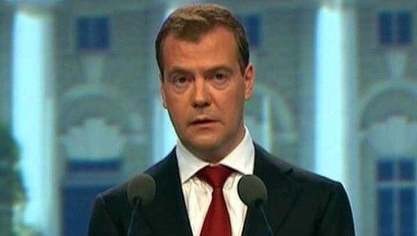 Медведев призвал решительнее затягивать удавку на шеях коррупционеров