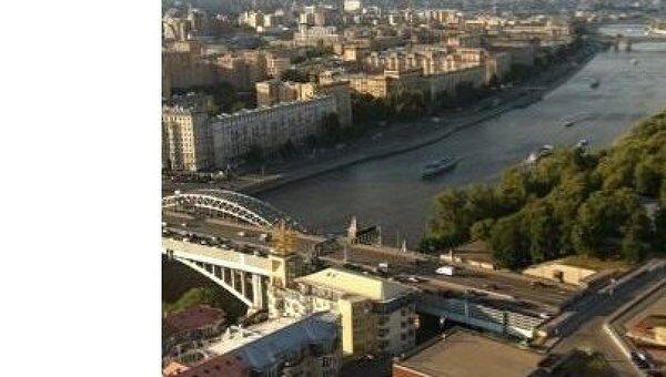 Москва с высотки РАН