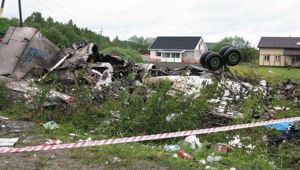 Авария Ту-134 в Карелии. Архив