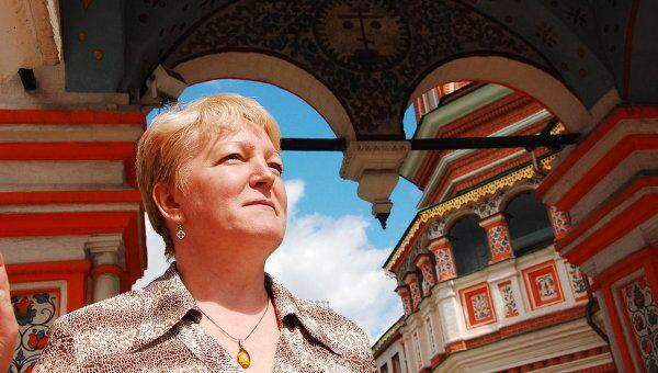 Директор музея Покровский собор (храм Василия Блаженного) Татьяна Григорьевна Сарачева