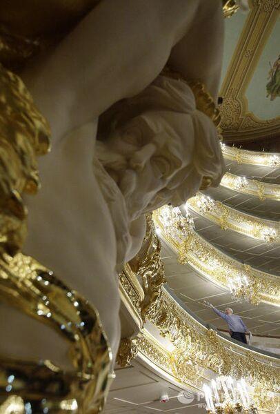 Реконструкция Зрительного зала Большого театра