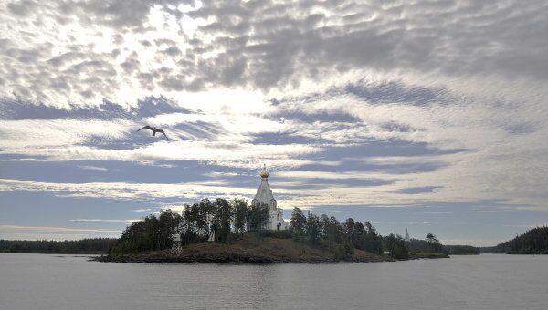 Остров Валаам на Ладожском озере, архивное фото