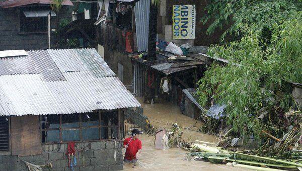 Последствия тропического шторма на Филиппинах