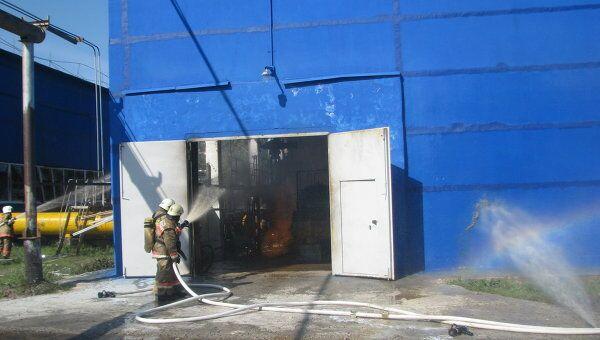 Пожар на ГРЭС в Сургуте