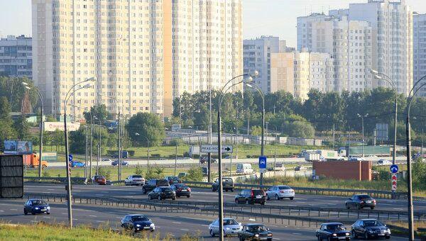 Трасса М-4 Дон в Москве. Архивное фото