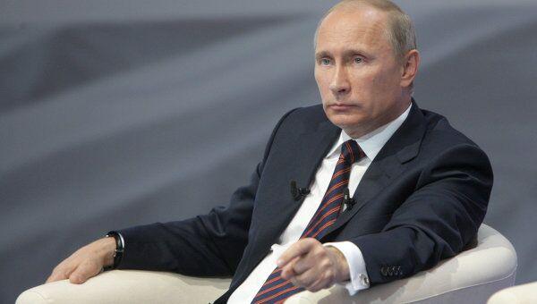 Рабочая поездка премьер-министра РФ В.Путина в Екатеринбург