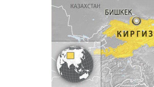 Киргизия. Карта