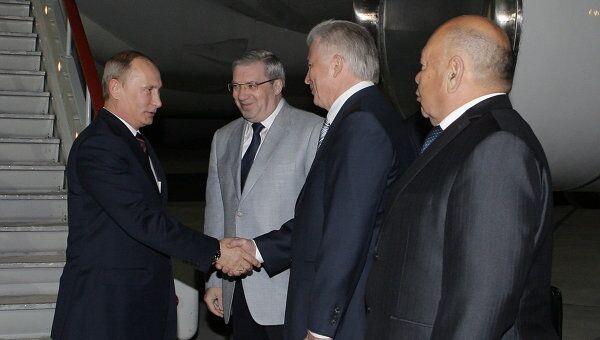 Рабочая поездка премьер-министра РФ В.Путина в Сибирский федеральный округ