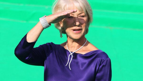Британская актриса Хелен Миррен. Архивное фото
